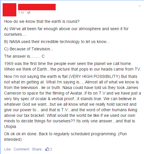 flat earth conspiracy facepalm Astronomy science - 8438112256