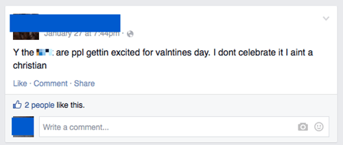 clever facepalm dating Valentines day - 8438132736