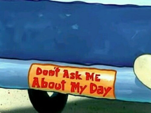 SpongeBob SquarePants bad day cartoons - 8438345984