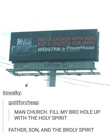 bros tumblr man church church - 8438453760