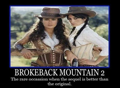 Sexy Ladies brokeback mountain funny - 8438464000