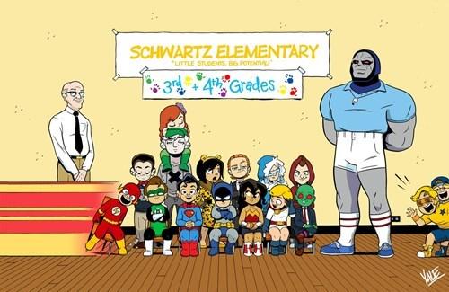 art kids justice league - 8438473472