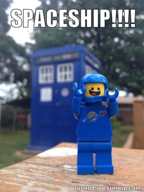 lego movie tardis spaceship - 8438485760