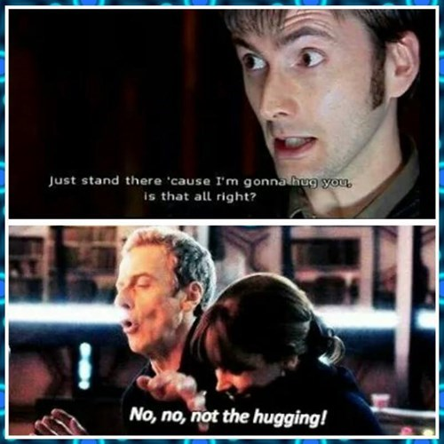 10th doctor 12th Doctor hugs - 8438494976