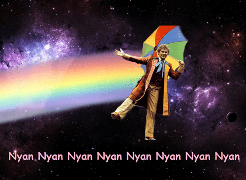classic who Nyan Cat 6th doctor - 8438530048
