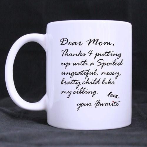 kids sibling rivalry parenting mug - 8438534656