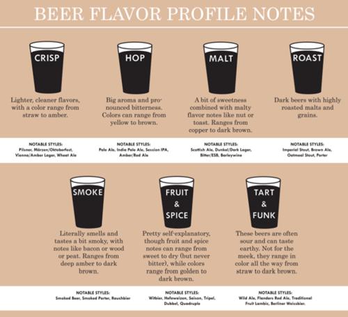 beer flavor profiles