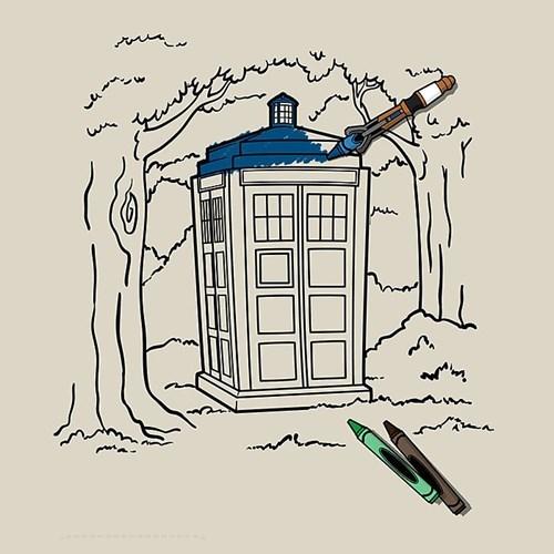 tshirts tardis for sale coloring - 8438558976