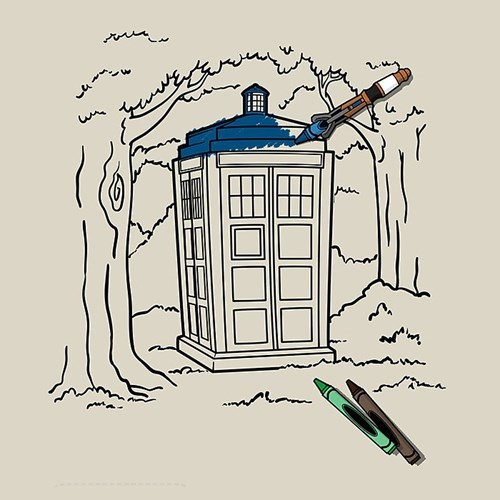 tshirts tardis for sale coloring - 8438558976
