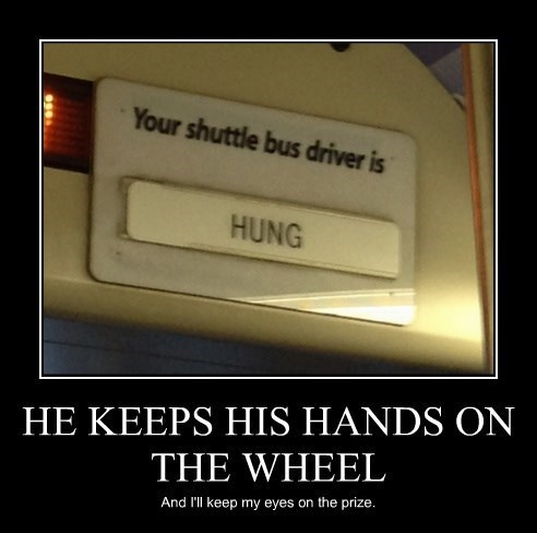 bus driver hung funny - 8438593280