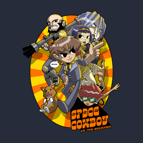 scott pilgrim,tshirts,for sale,cowboy bebop