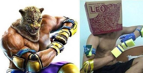 drinking,totally looks like,Tekken