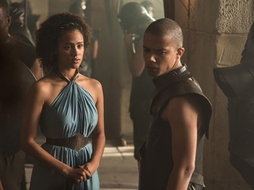 missandei and grey worm season 5