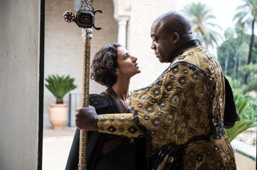 Ellaria Sand and Areo Hotah season 5