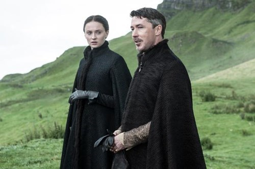 sansa stark and littlefinger season 5