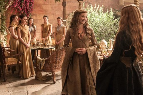 Margaery Tyrell and Cersei Lannister season 5