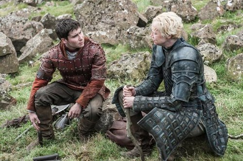 Podrick Payne and Brienne of Tarth season 5