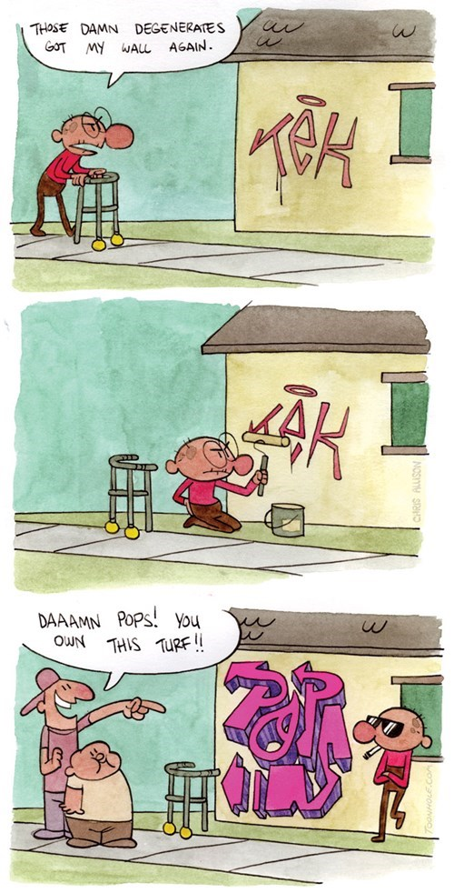 old school kids graffiti web comics - 8438739968
