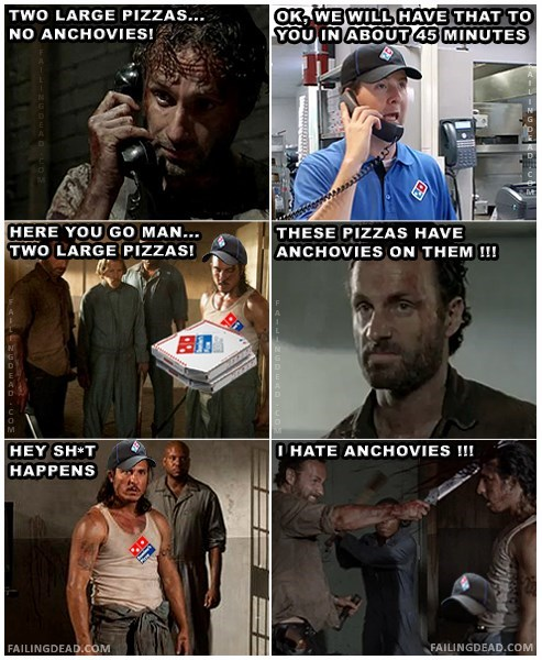 Rick Grimes pizza ricktatorship - 8438740224