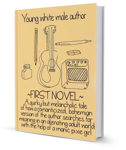a prototypical first novel by young white male author
