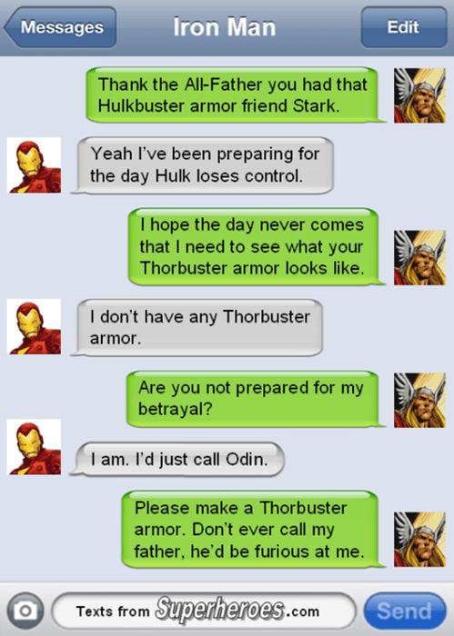 Thor hulkbuster iron man - 8439550720