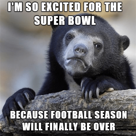 Memes football Confession Bear - 8439659776