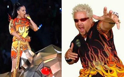 katy perry,Guy Fieri