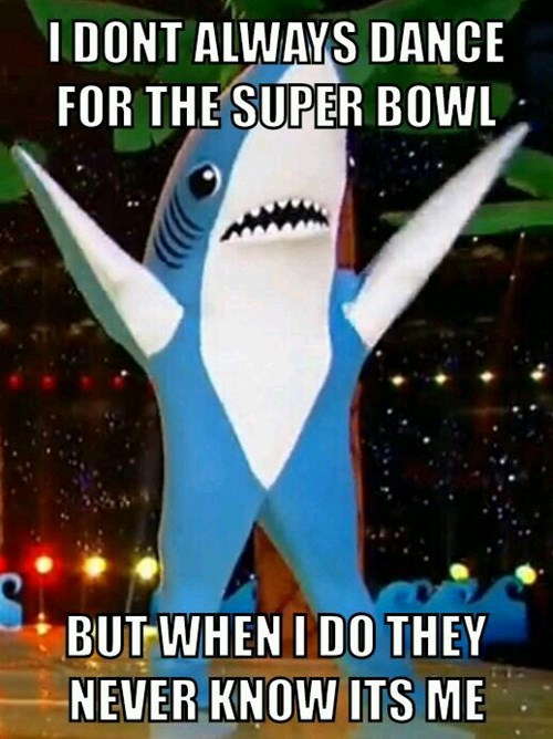 sad shark super bowl halftime show shark - 8439719424