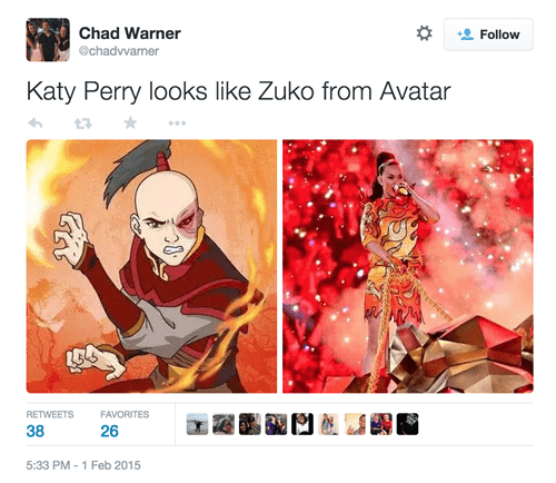 katy perry totally looks like zuko