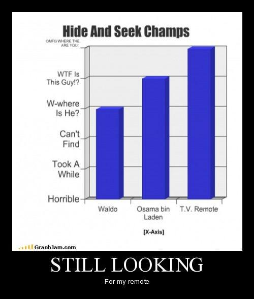 remote hide & seek funny lost - 8439860992