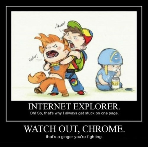 dammit ie9 firefox chrome funny