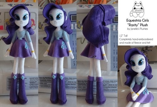 equestria girls Plushie rarity crafts - 8439981824