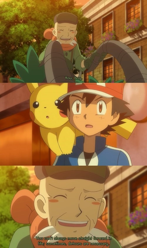 ash Pokémon anime advice