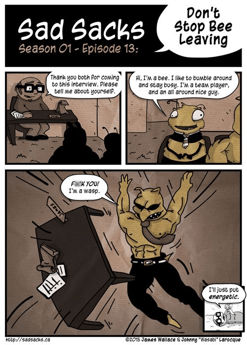 wasps in this economy puns bees web comics - 8440077568