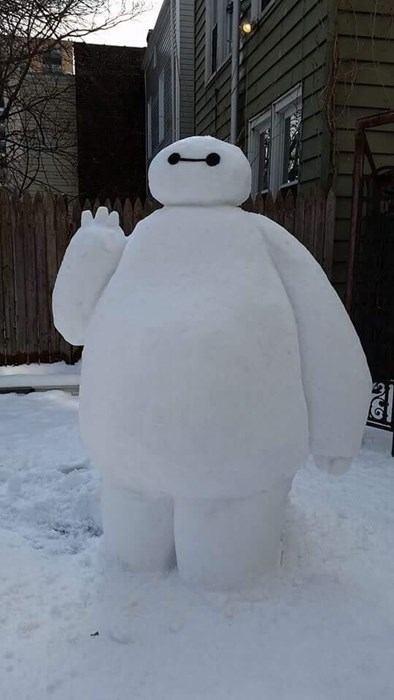 baymax snow big hero 6 win snowman g rated - 8440219392