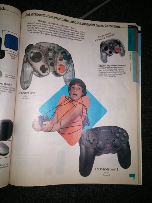 video games, wireless controllers,