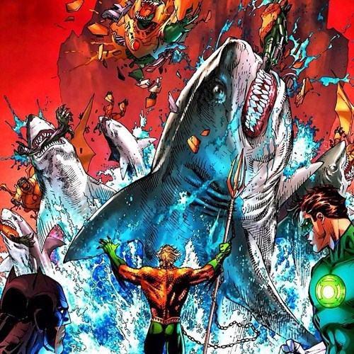 Straight off the Page sharks aquaman - 8440272896