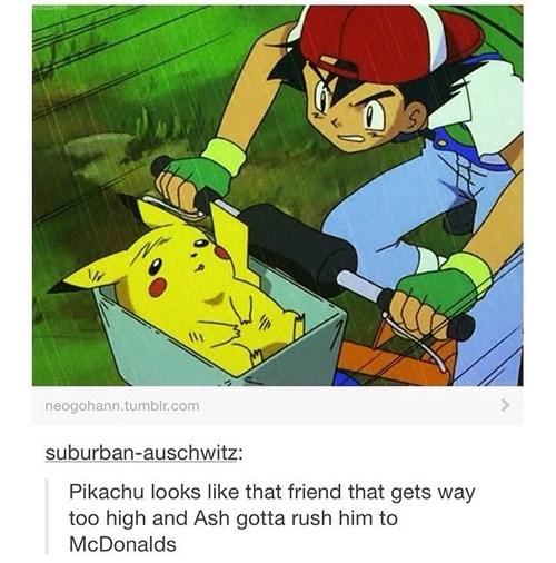 pikachu, pokemon, mcdonalds,ash ketchum