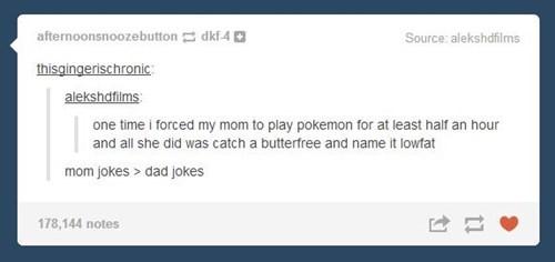 Pokémon tumblr dad jokes parenting mom failbook g rated - 8440288768