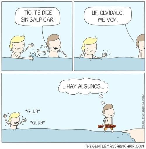 El salvavidas