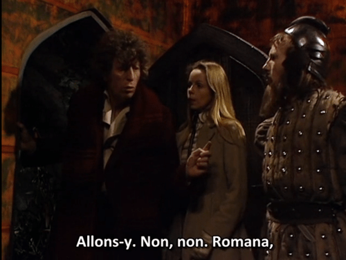 classic who catch phrase subtitles allons y 4th doctor - 8440309504
