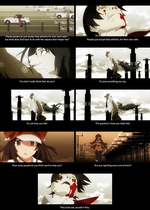 anime bakemonogatari - 8440393472