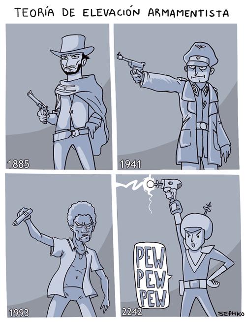 armas en el futuro