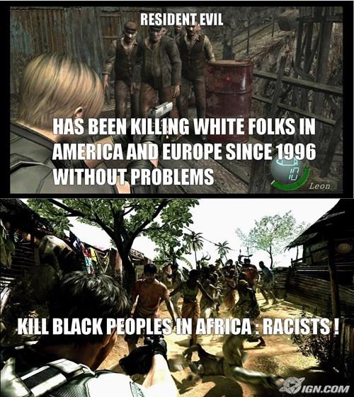 racism, resident evil,