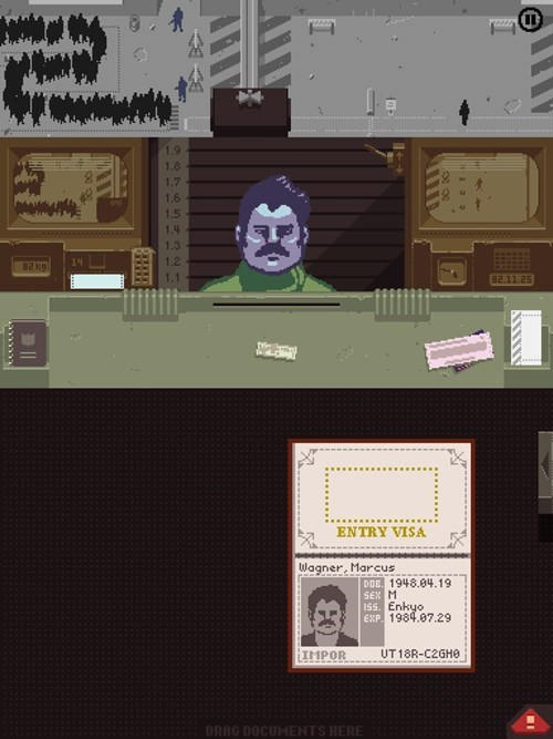 ron swanson, papers please, video games