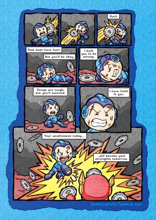 mega man, web comics, kotor comics,