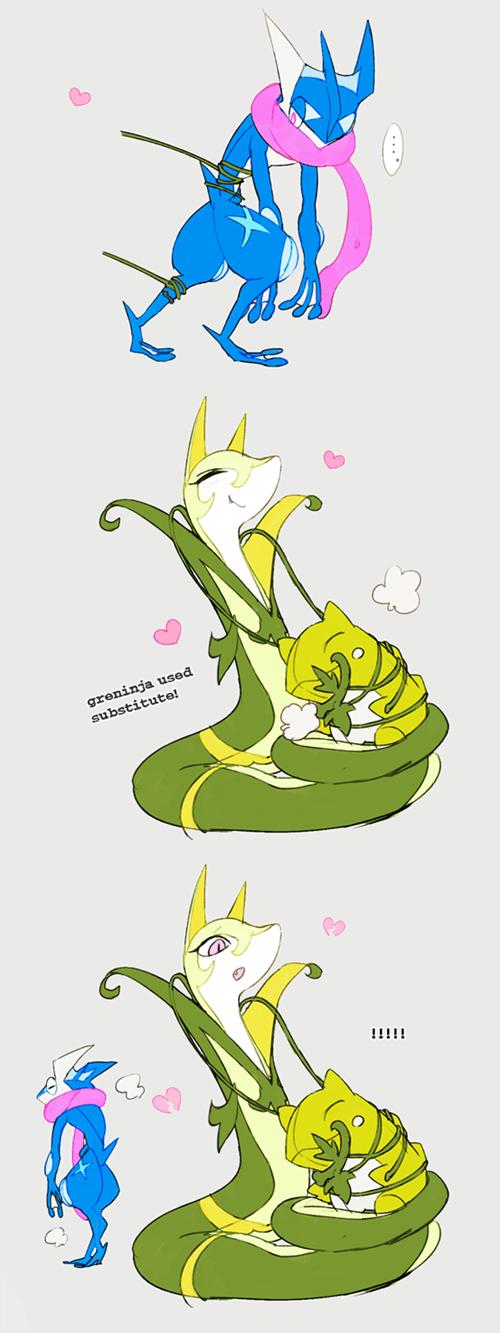 cute hugs greninja substitute - 8441005824
