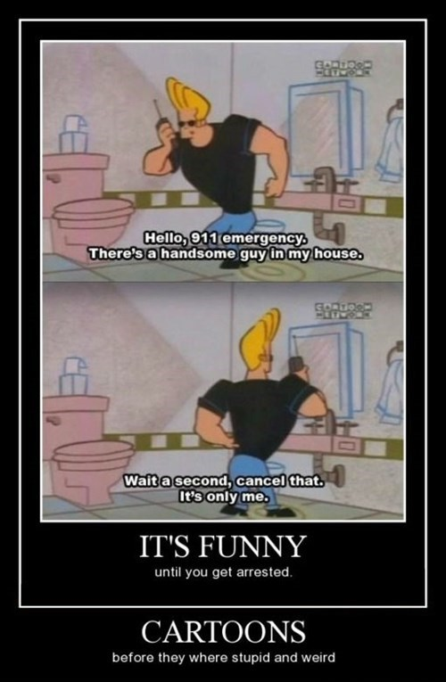 911,johnny bravo,cartoons