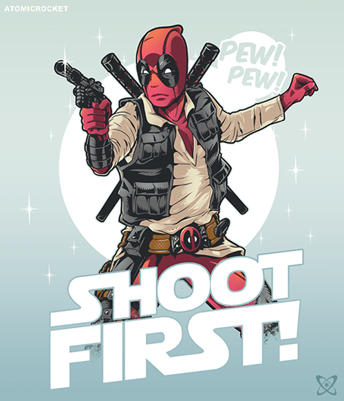superheroes-deadpool-marvel-han-solo-shoot-first-art