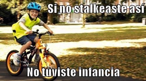 stalkeando cuando niño